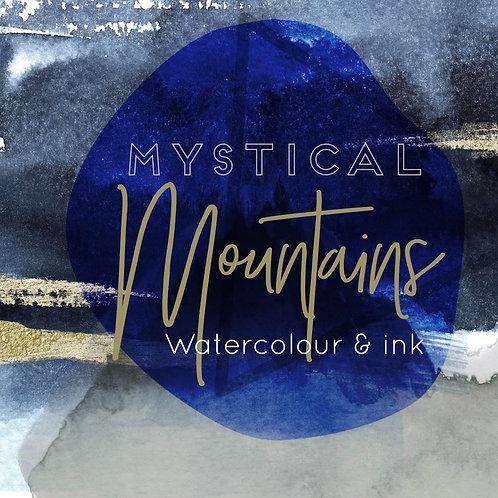Magical, Mystical Mountains: Watercolour + Ink Art Night: 27th Nov