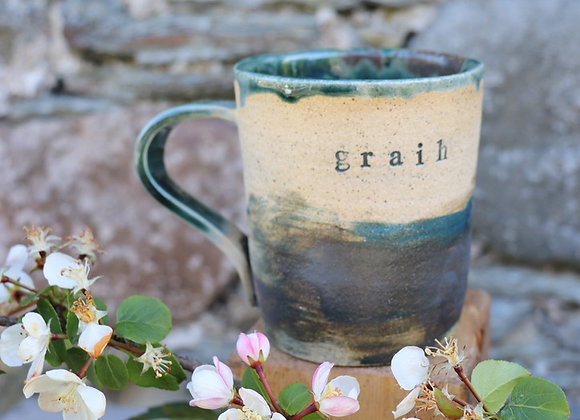 Thrown stoneware Mug - Graih