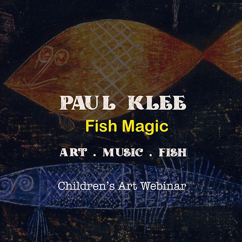 Paul Klee Fish Magic Painting Art Webinar: 11th September