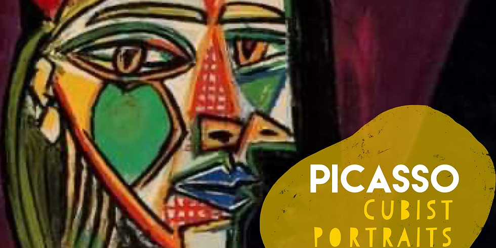 Picasso Cubist Portraits - Art Workshop for Children (age 5+): 29th May