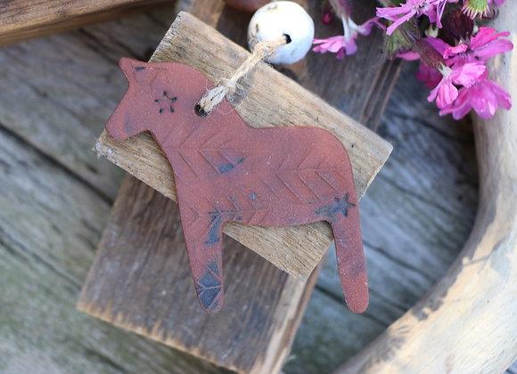 Red Clay Dala Horse
