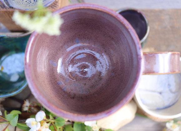Thrown Mug: Island Heather