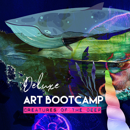 ★  Deluxe ★  Art Bootcamp! From 16th August