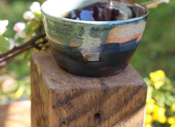 Hand Thrown Pot: Island Landscapes