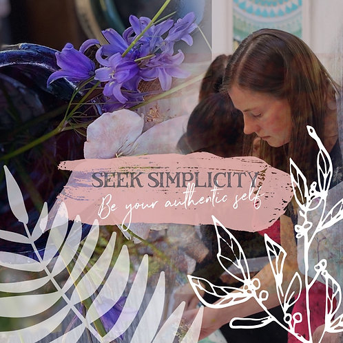 Seek Simplicity: One day Painting Retreat: 26th June
