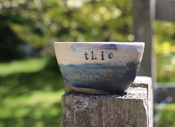 Hand Thrown Small bowl: Island Landscapes for the home