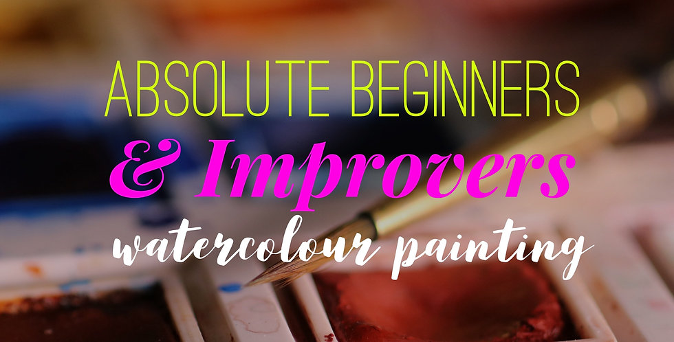 Watercolours Beginners & Improvers
