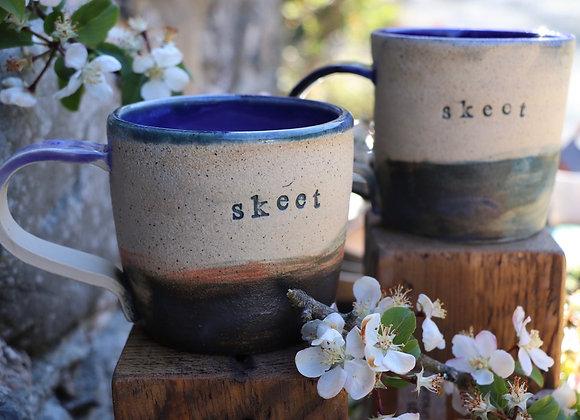 Thrown Skeet Mug