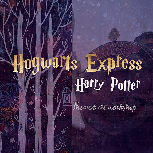 ★ HARRY POTTER - HOGWARTS EXPRESS - Themed  workshop: 21st December @ 2.30pm