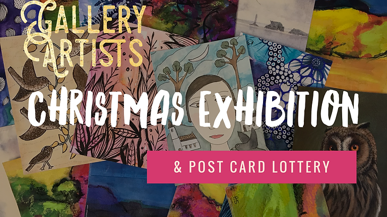 Gallery Christmas Exhibition & Post Card Lottery
