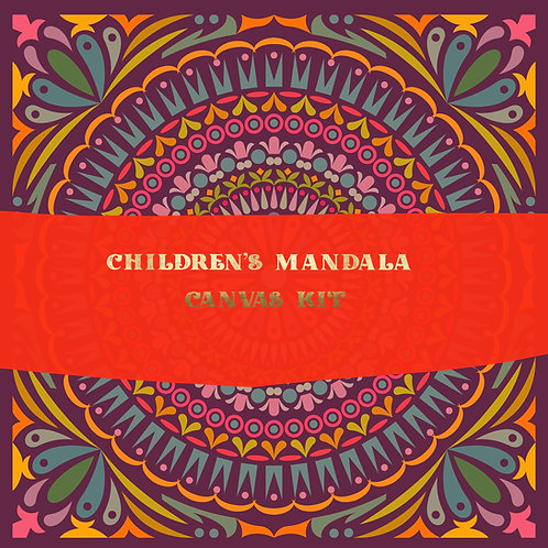 Kids Mandala Painting Kit