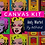 Thumbnail: Canvas Kit: Pop Art Canvas Kit: