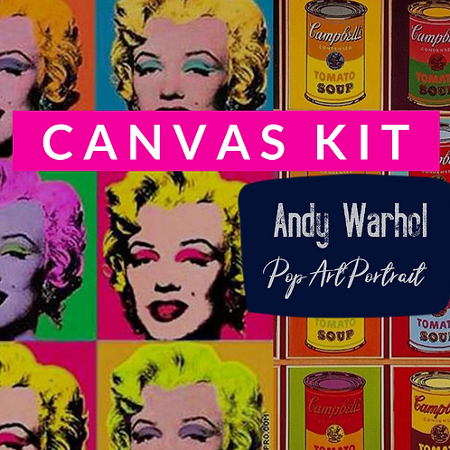 Canvas Kit: Pop Art Canvas Kit: