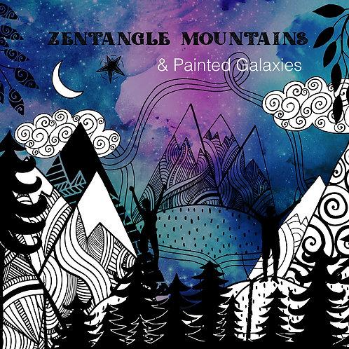 Family Art Webinar: Zentangle Mountains + Painted: Galaxies: