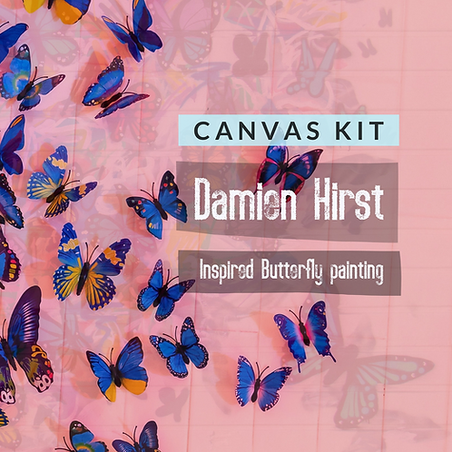 Canvas Kit: Damien Hirst Butterfly Canvas Kit