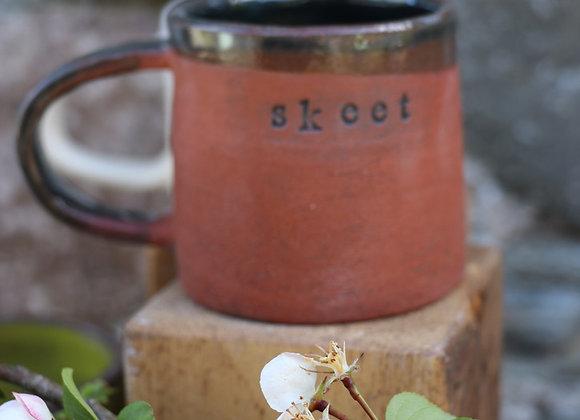 Red Clay Skeet Mug
