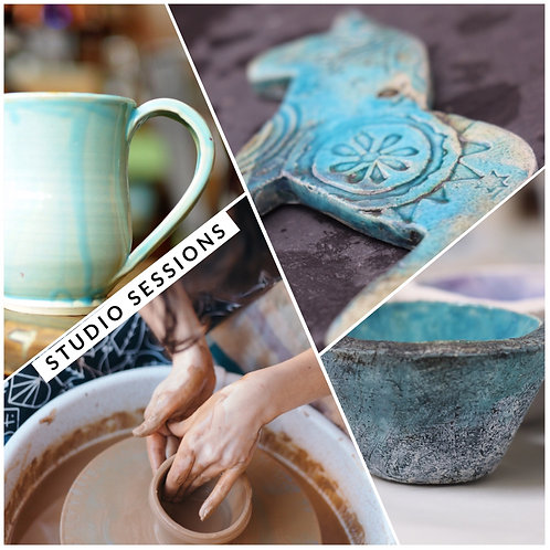 Clay Pot throwing Studio Session: 2nd January