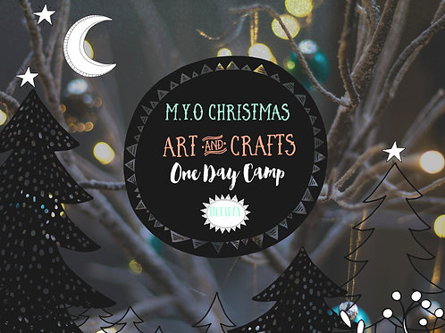 One Day Christmas Camp: Kids Workshop: 19th Dec