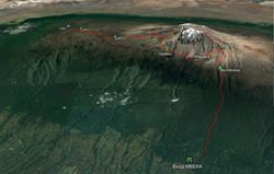 Маршрут Google Earth