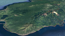 Маршрут на Google Earth