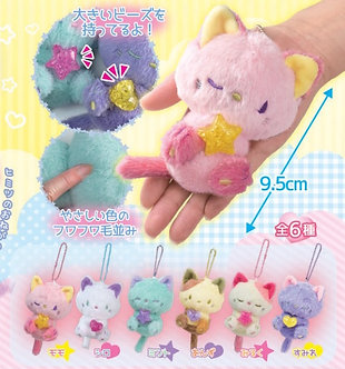 Dreamy Neko Pastel Plush Kittens Charms