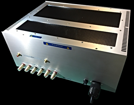 EL34 3結PP Power Amp Rear Panel
