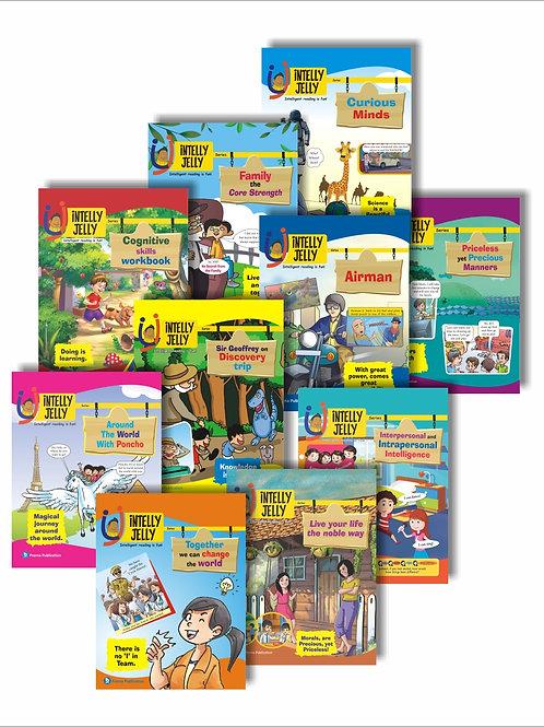 Set of 10 English Books