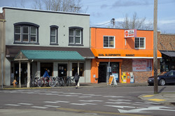 Downtown Corvallis Oregon, OSU.