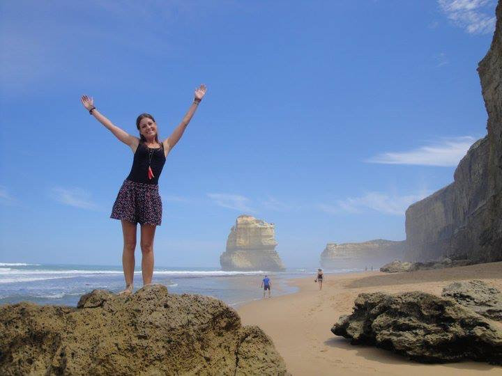 The Twelve Apostles along the Great Ocean Road.