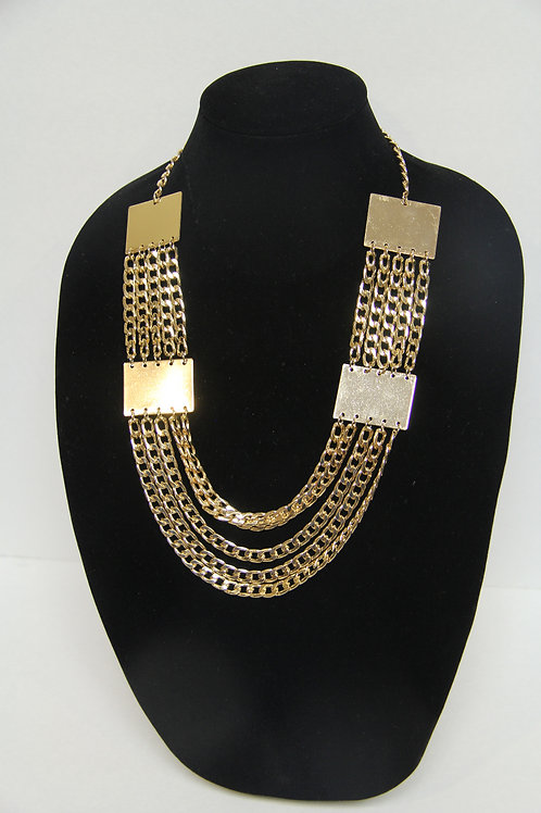 gold linked chain