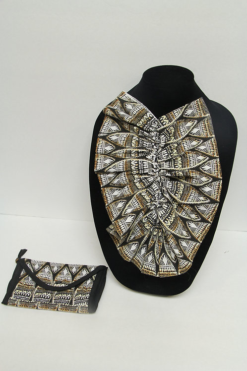 african inspired ascott tie with wallet