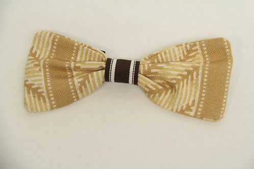 african printed bow tie