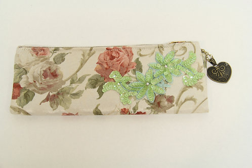 rose fold over clutch