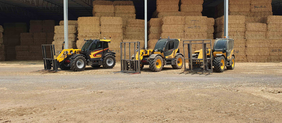 New Dieci Agri Plus telehandler makes light work of heavy hay operation