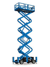 Access Hire EWP Access Equipment Rental Elevated Scissor Lift
