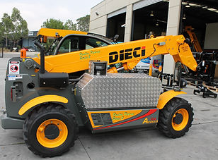 Telehandler dieci Poultry Pickup Agriculture