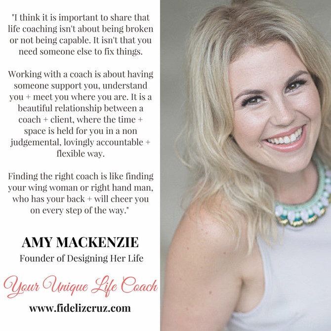 Designing Your Life with Coach Amy Mackenzie