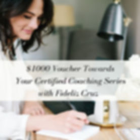 $1000 Voucher towards your Certified Coa