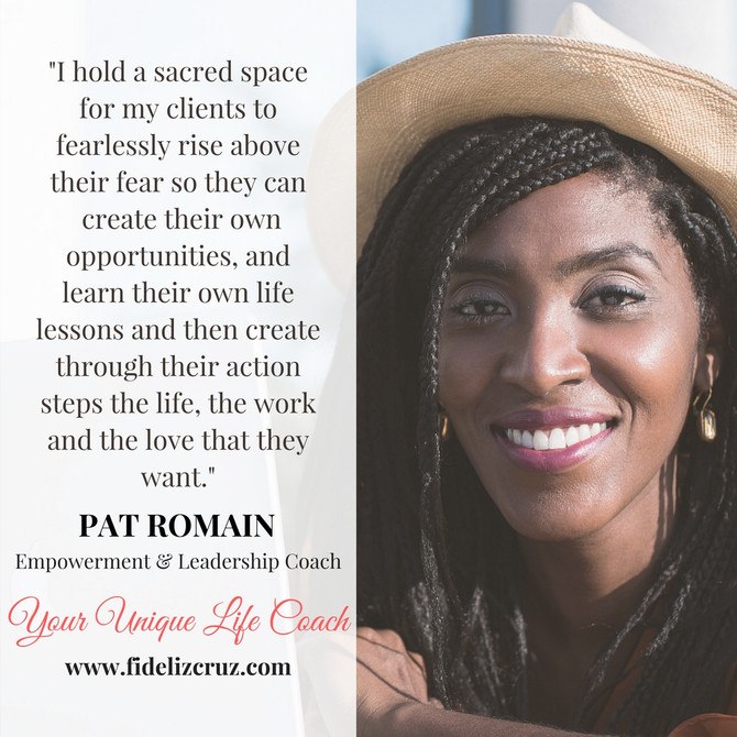 Rise Fearlessly with Coach Pat Romain