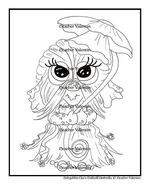 Hobgobbie Cleo's Daffodil Umbrella