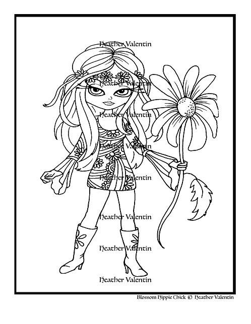 Blossom Hippie Chick