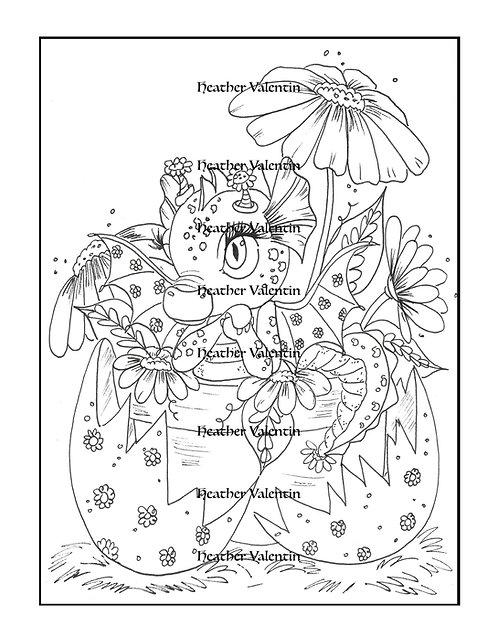 Dragdaisy Flower Pot Hatchling