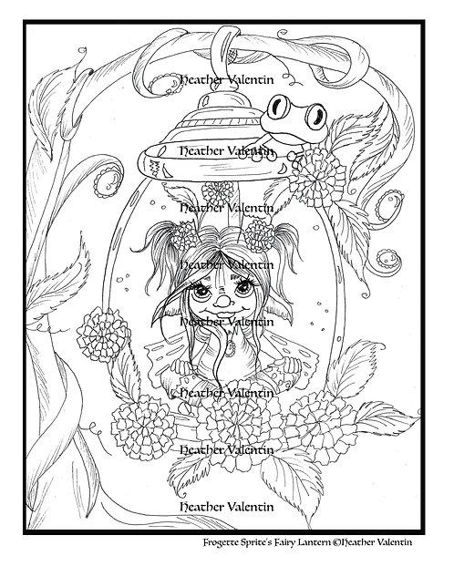 Frogette Sprite's Fairy Lantern
