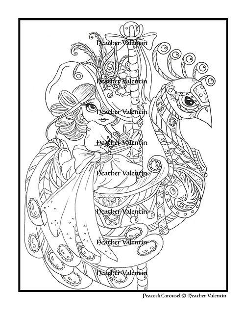 Peacock Carousel