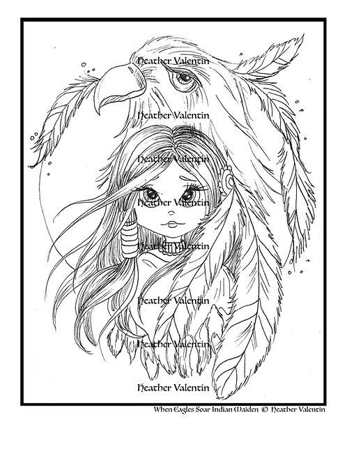 When Eagles Soar Indian Maiden