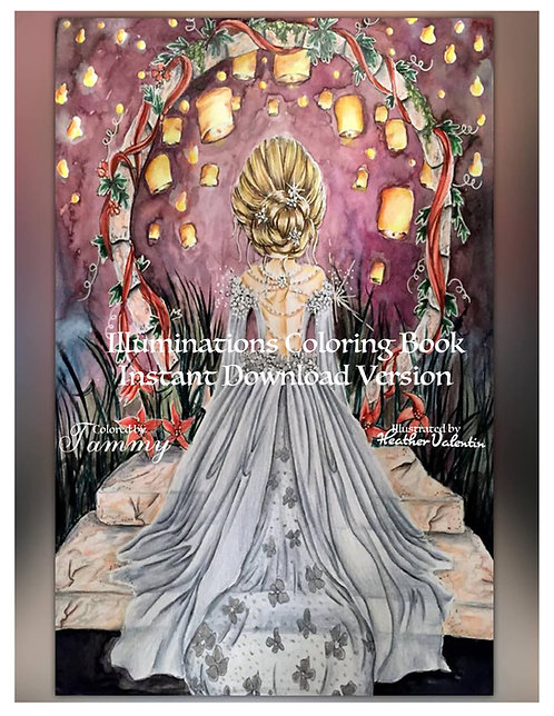 Illuminations Instant Download Coloring Book