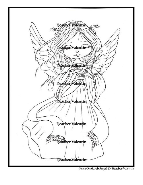 Peace On Earth Angel