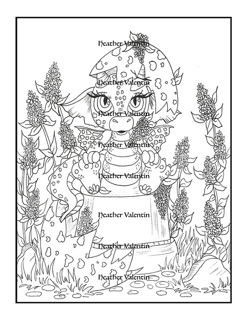 Dragolilacon Flower Pot Hatchling