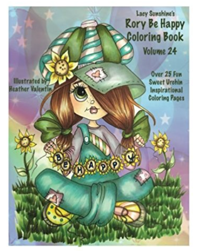 Rory's Be Happy Instant Download Coloring Book Volume 24