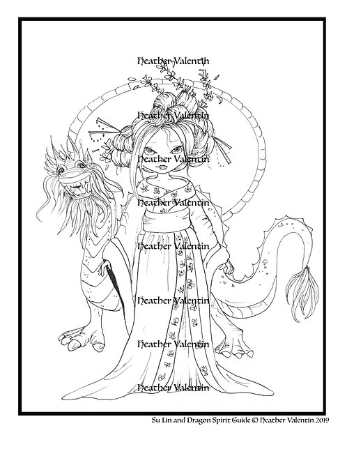 Su Lin and Dragon Spirit Guide